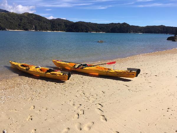 On deserted island