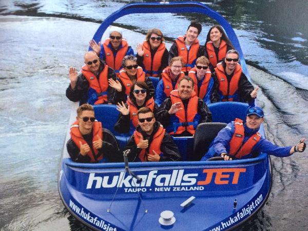 Huka falls jet boat